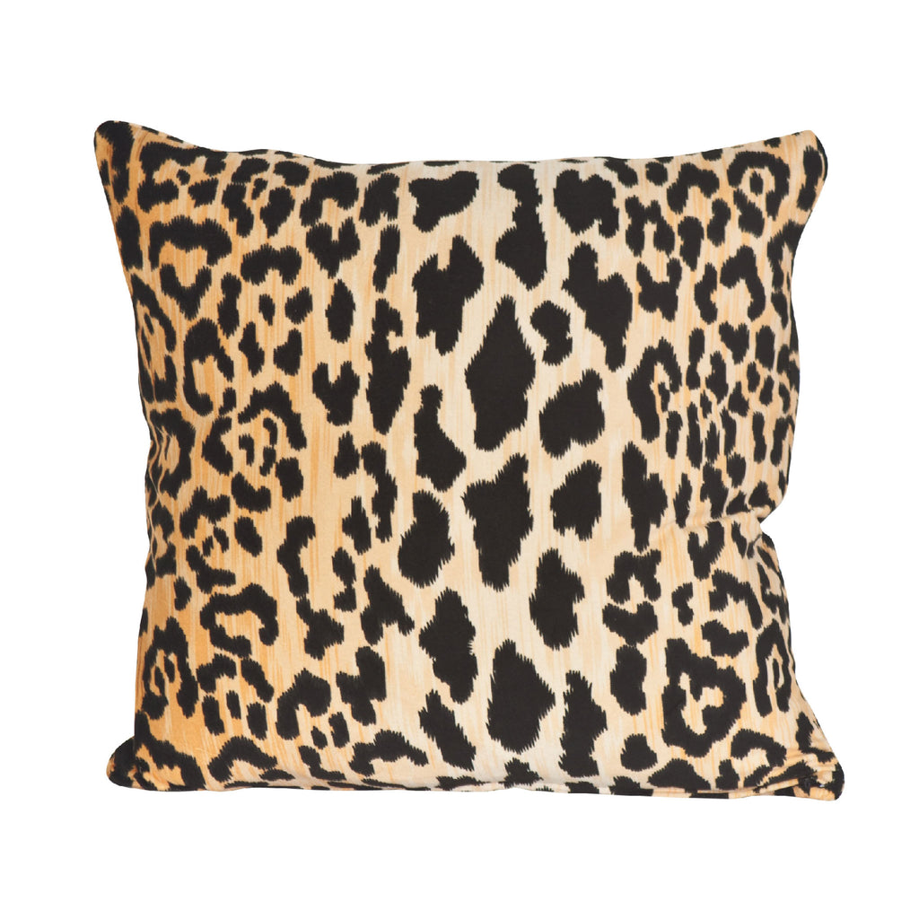Leopard Print Pillow Society Social