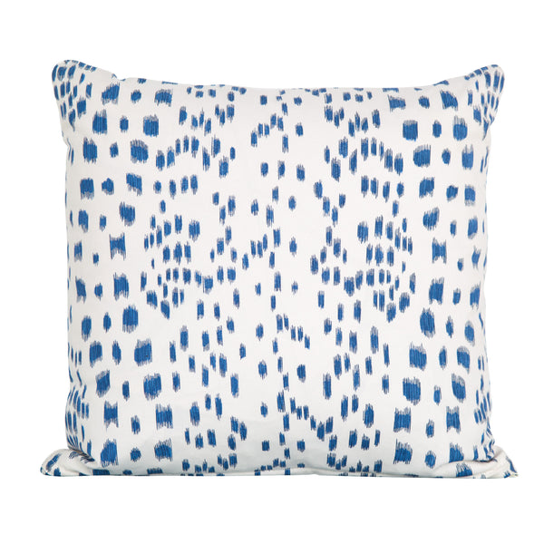 Blue Les Touches Pillow