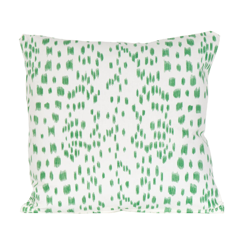Green Les Touches Pillow
