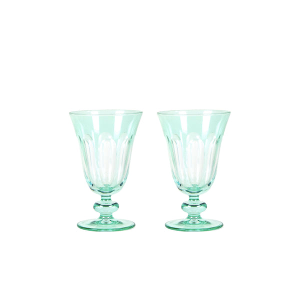 Tulip Glass in Mint