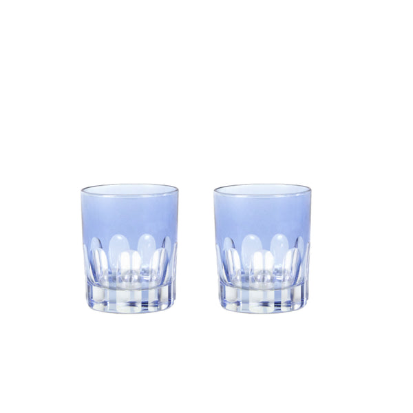 Double Old Fashioned Glasses in Thistle
