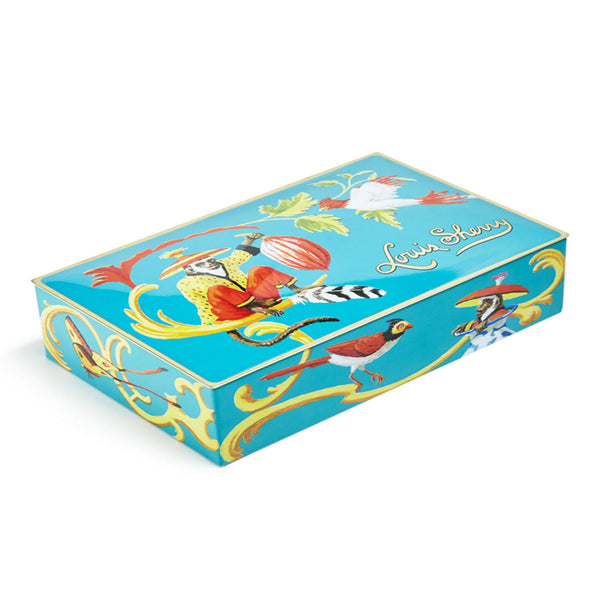 "Box of Chocolates ""Singerie Teal"""