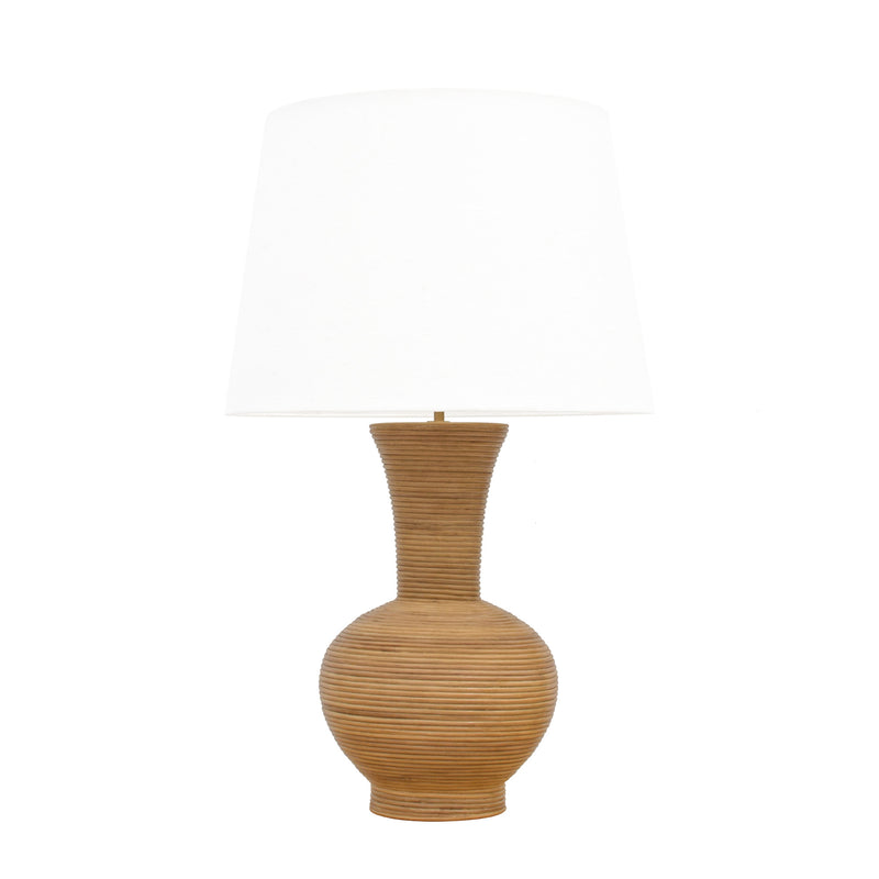 Mayfair Pencil Rattan Lamp