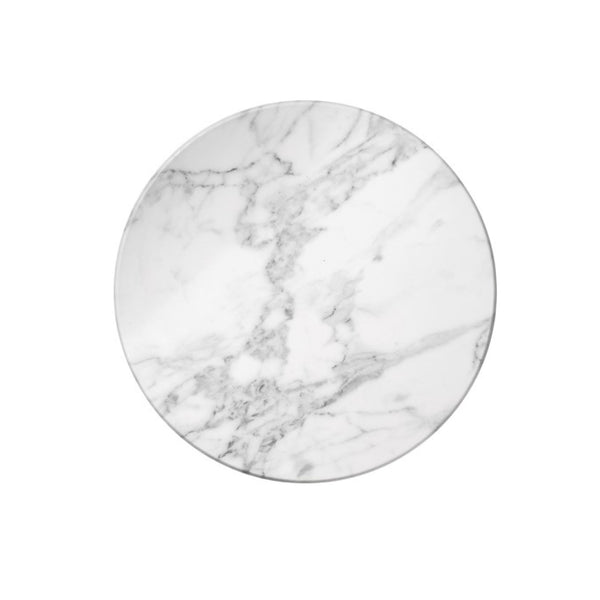"White Marble 17"" Lazy Susan"
