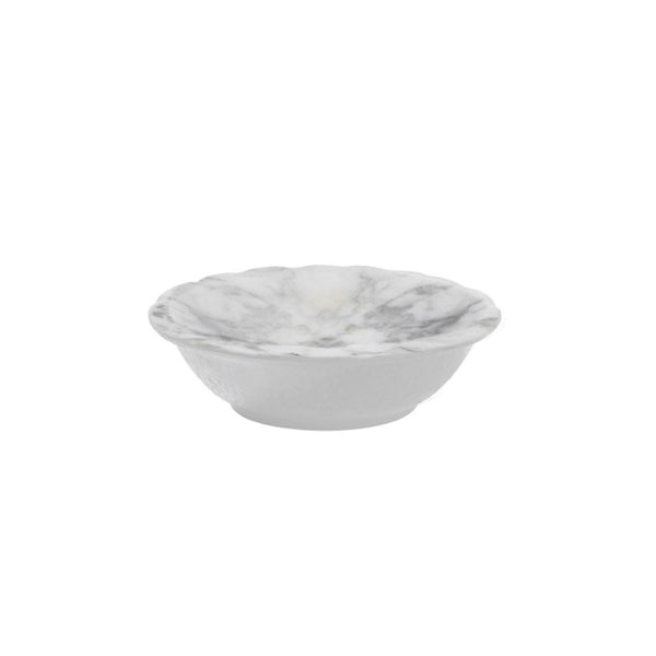 White Marble Dipping Bowl