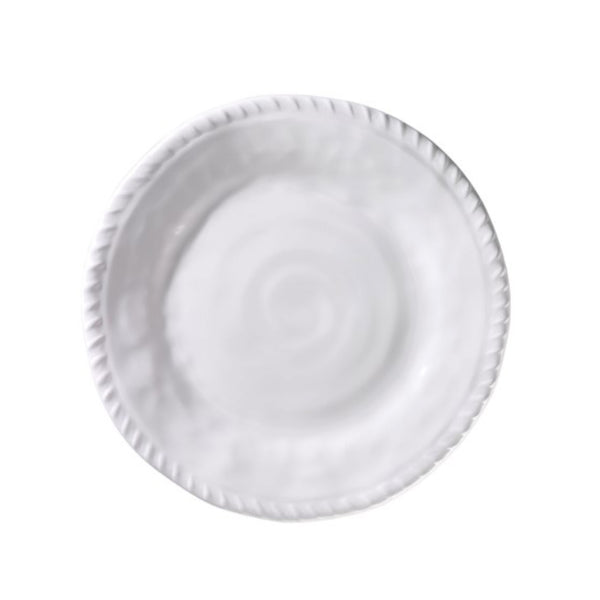 White Rope Appetizer Plate