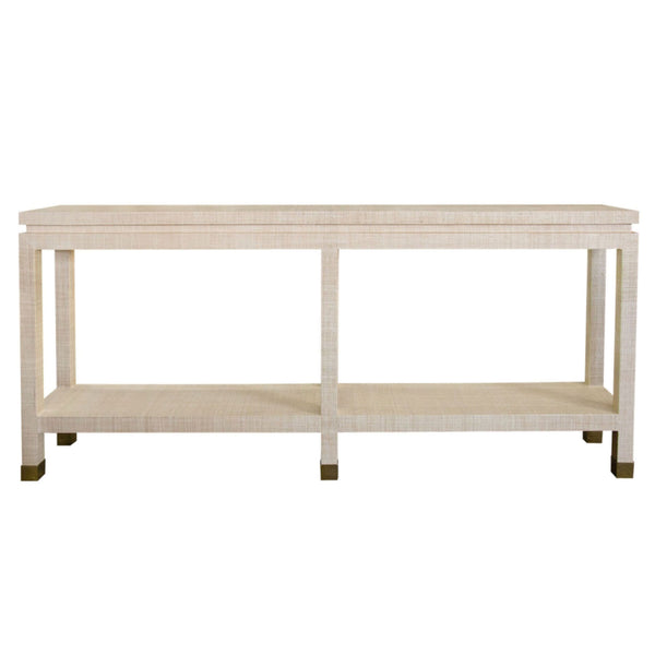 Ming II Grasscloth Console