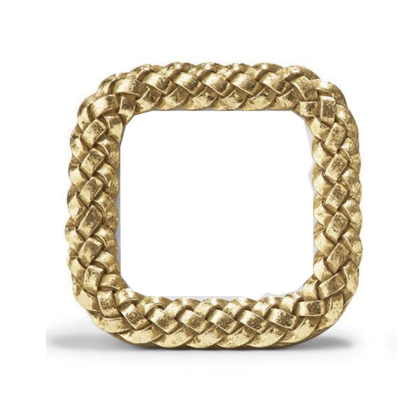 Mini Gold Braid Square Frame