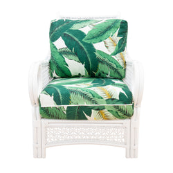 Nantucket Rattan Lounge Chair