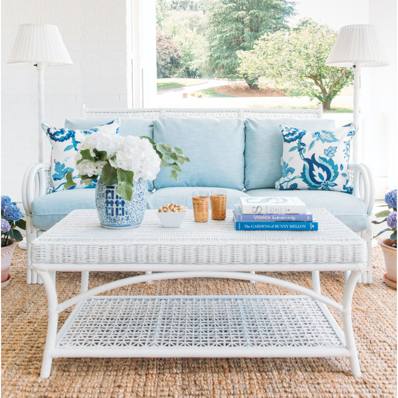 Nantucket Rattan Sofa