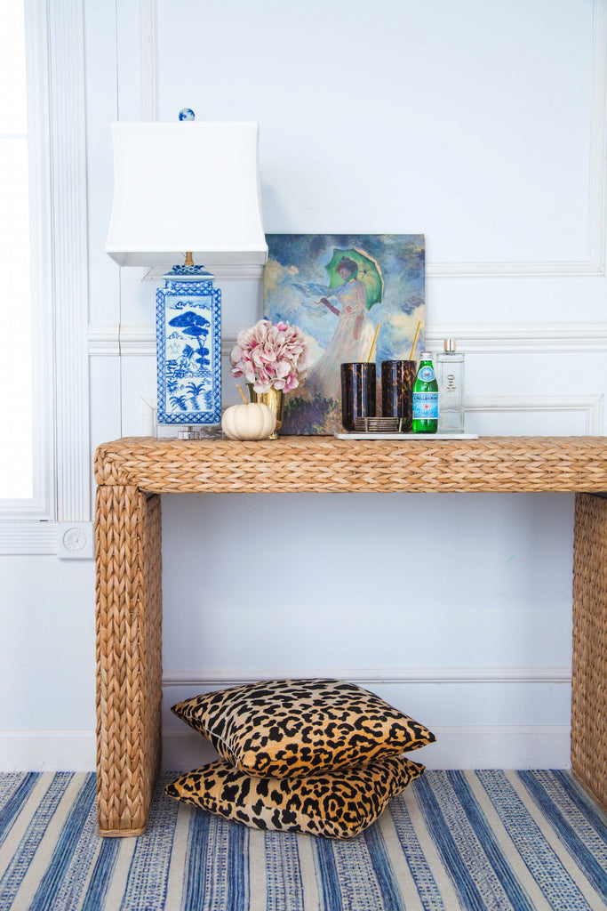 Harbour Seagrass Console Table Society Social