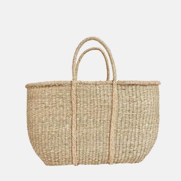 Wicker Market Tote XL