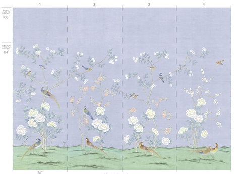 Periwinkle Chinoiserie Sample Request