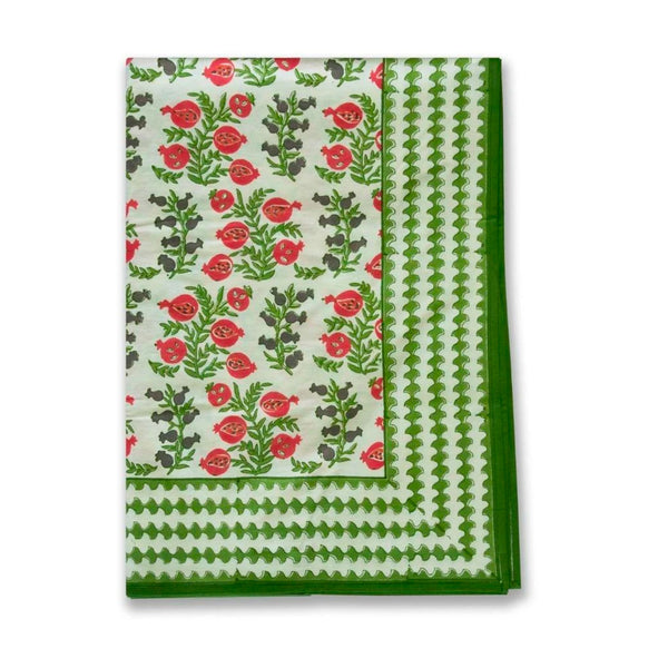 Pom Bells Harvest Large Tablecloth