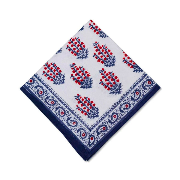 Sagar Red & Blue Napkin