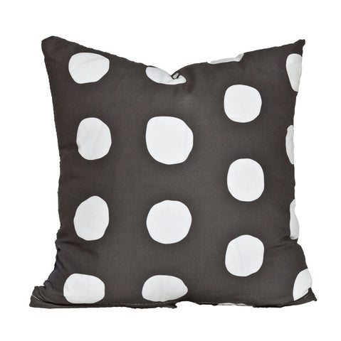 Posh Polka Dot Charcoal