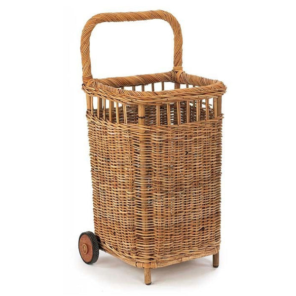Provence Small Wicker Market Cart