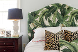 Charlotte Headboard - Beverly Palm Print
