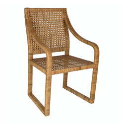 Remi Rattan Chair - Natural  (Set of 2)