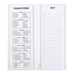 Charcuterie List Notepad