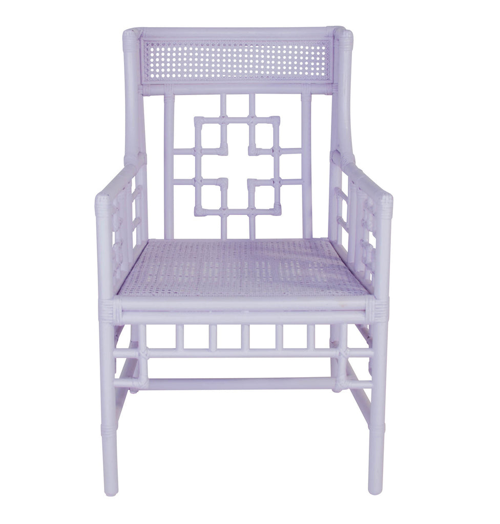 Regency Rattan Accent Chair