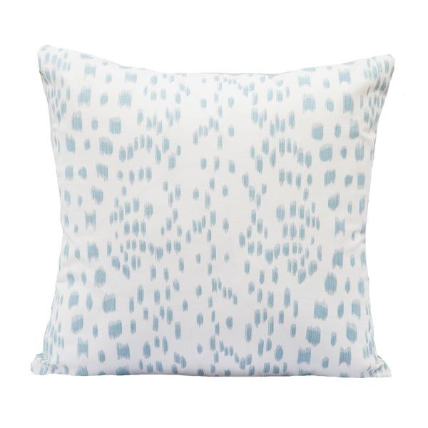 Signature French Blue Les Touches Pillow