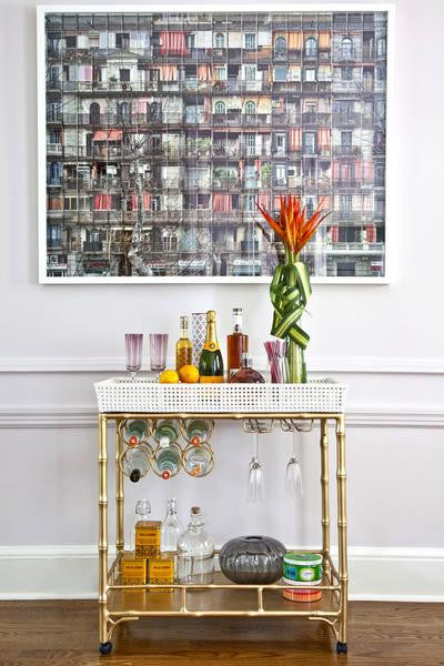 Society Social - The Madison Mixer Bar Cart