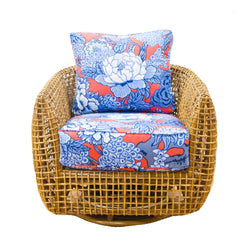 Southport Rattan Swivel Chair