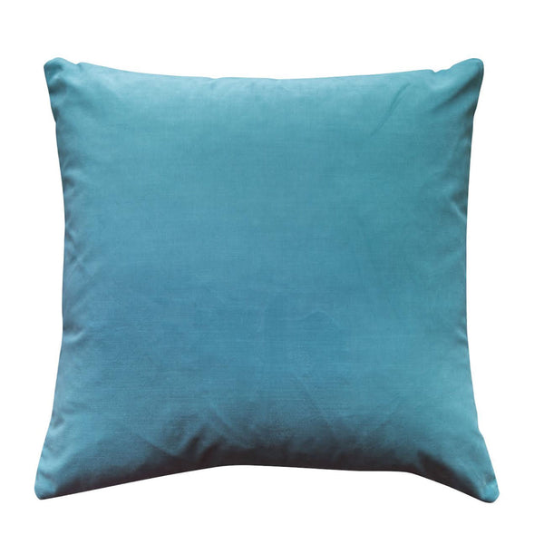 Colorblock Velvet Pillow - Mineral & Spa