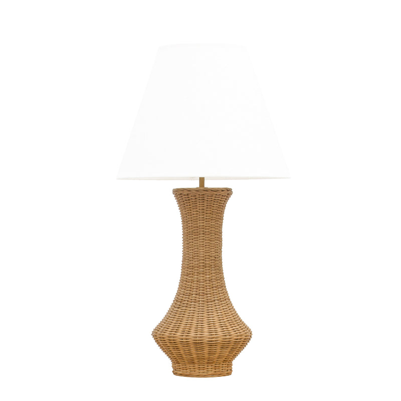 Spunkie Wicker Lamp