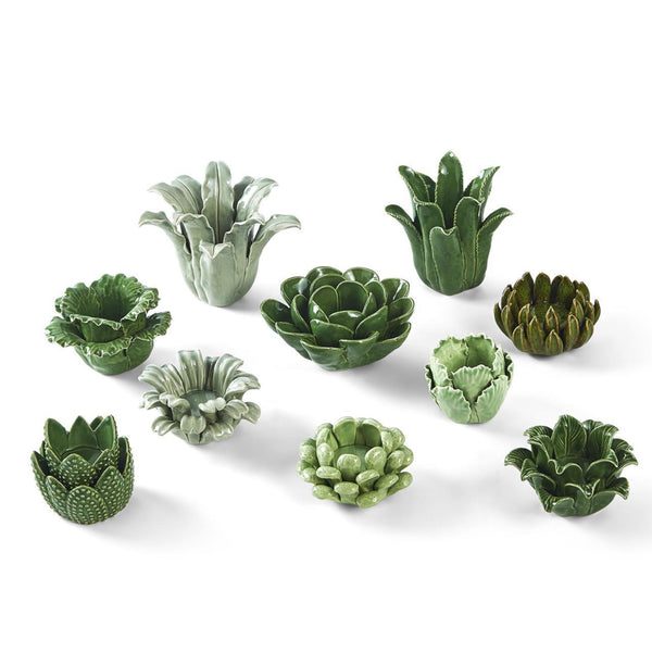 Succulent Tealights ( Set of 10 )