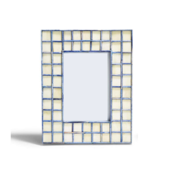 "Blue Tiled Frame  5""x 7"""