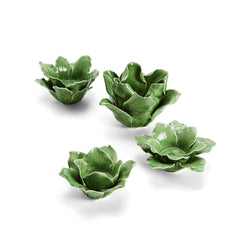 Set of 4 Leaf Tealights