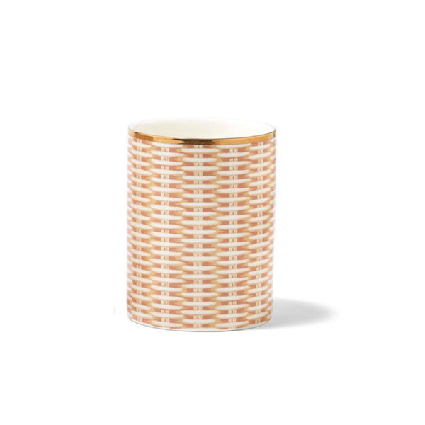 Rattan Wicker Weave Candle
