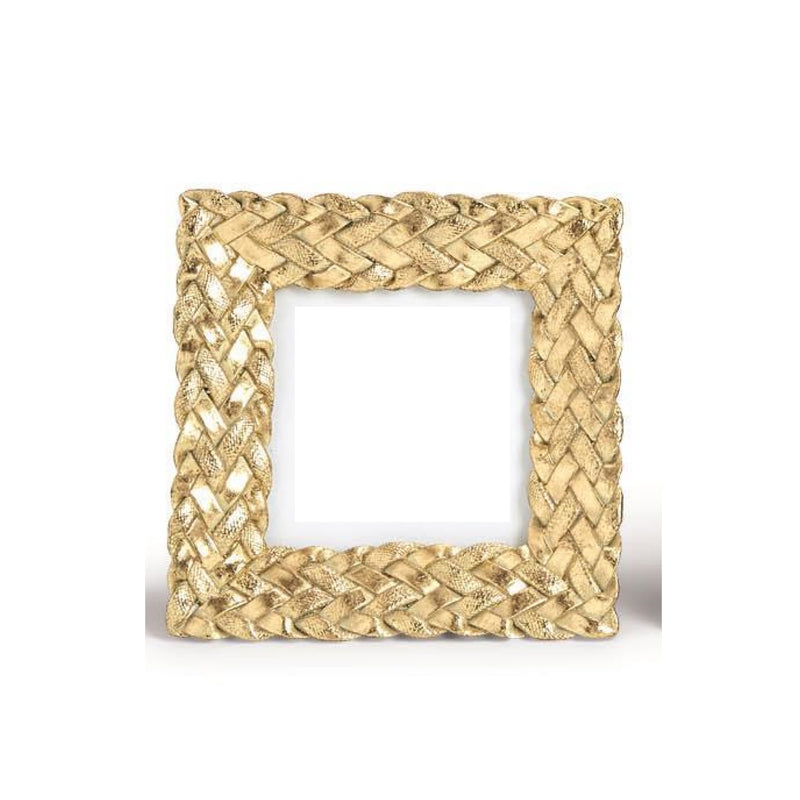 "Gold Braid 4""x4"" Frame"