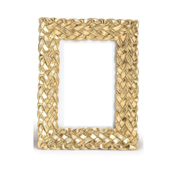 "Gold Braid 4""x6"" Frame"