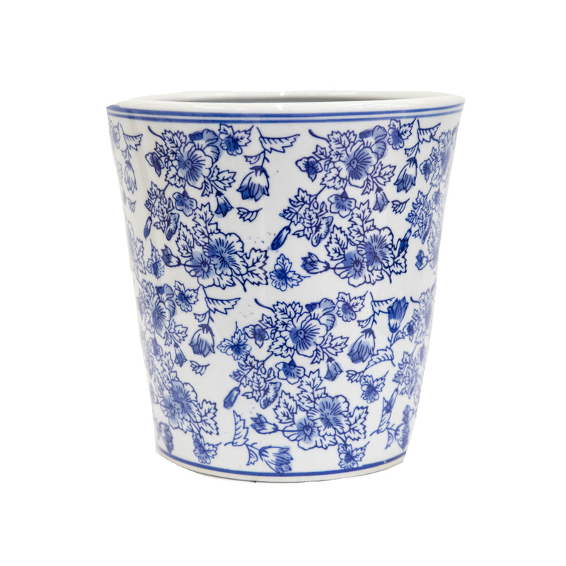 "Chinoiserie Round 6"" Planter"