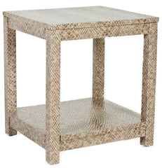 The Draper End Table