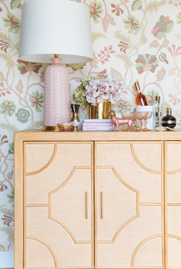 Melrose Lamp - Blush Pink