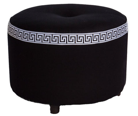 Greek Key Stool