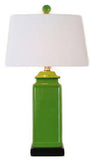 Green Pagoda Jar Lamp