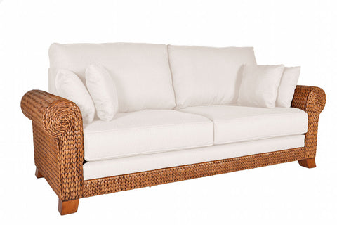 Hamptons Seagrass Sofa