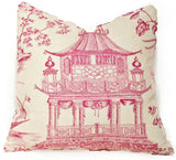 Chinoiserie Chic Hot Pink