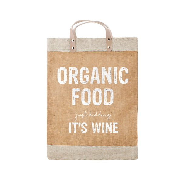 Just Kidding, It's Wine Market Tote