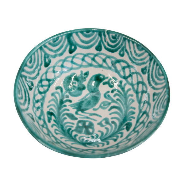 Medium Hand-Painted Verde Dish