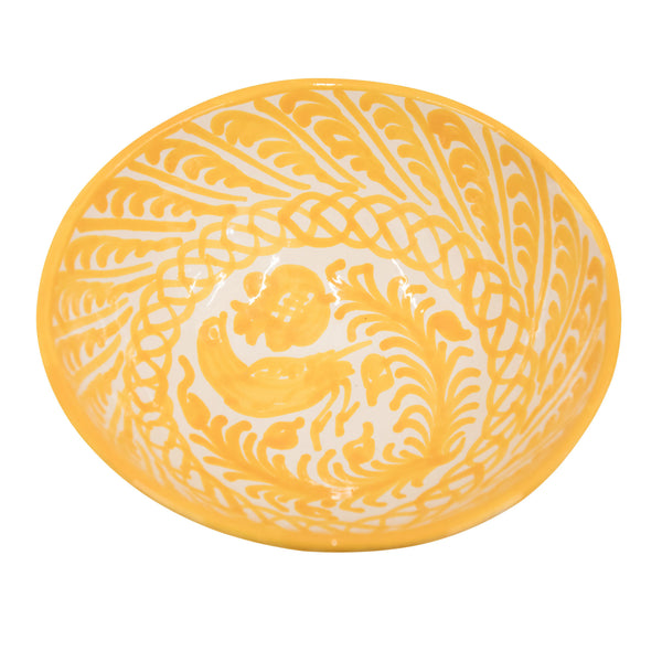 Medium Hand-Painted Amarilla Dish