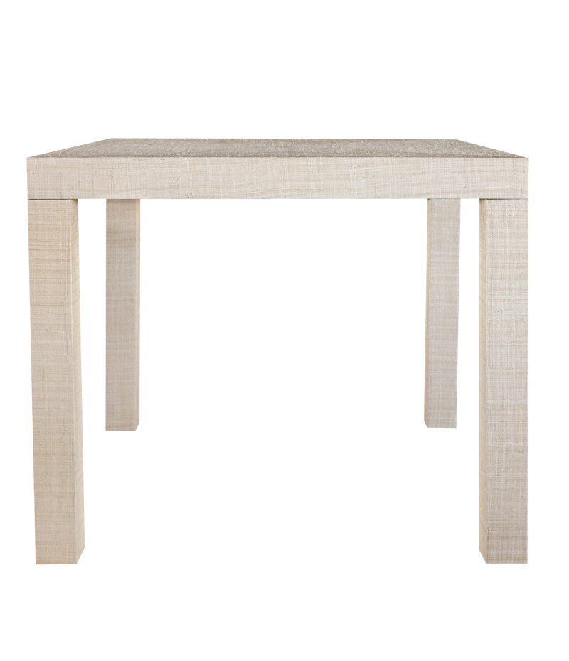 Newport Grasscloth Game Table