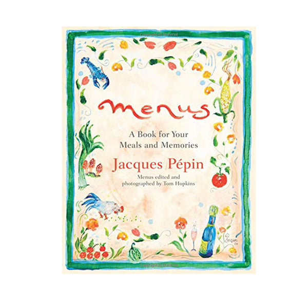 Menus: A Book for Your Meals & Memories