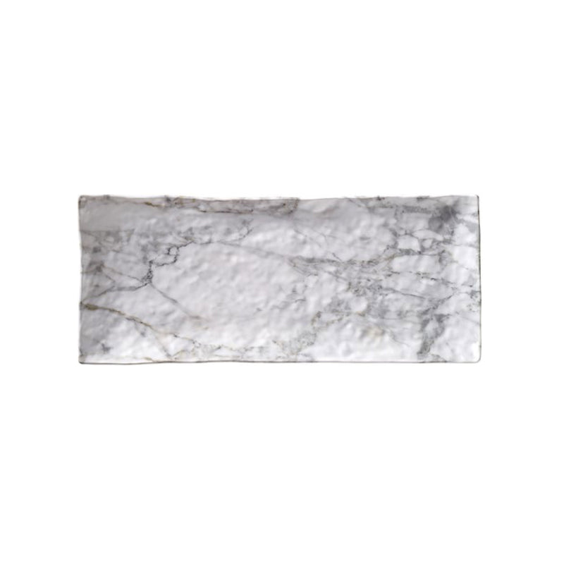 White Marble Rectangle Tray