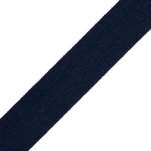 Navy Tape Trim